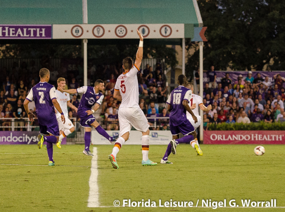 Orlando City Soccer vs. A.S. Roma, Orlando, Florida - 23 May 2014 (Photographer: Nigel Worrall)