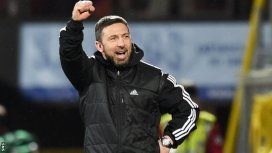 Derek McInnes was a candidate for the Rangers job but will be looking to beat us to the signature of May - Image courtesy of the BBC