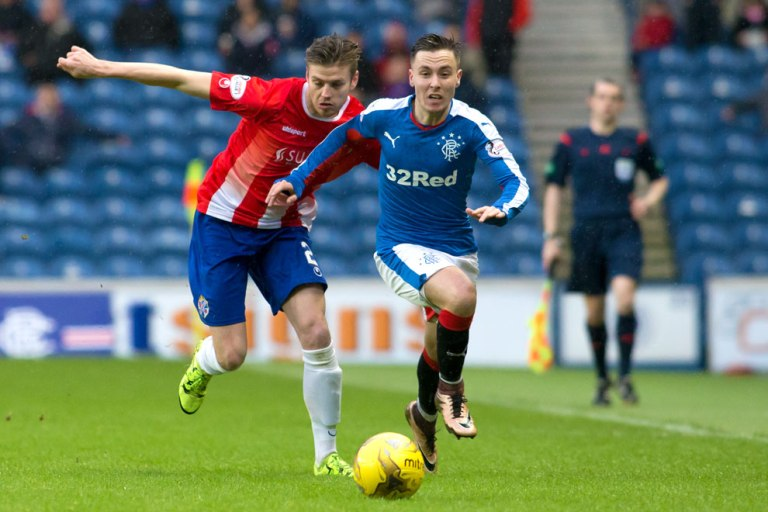 Barrie McKay, courtesy of RFC