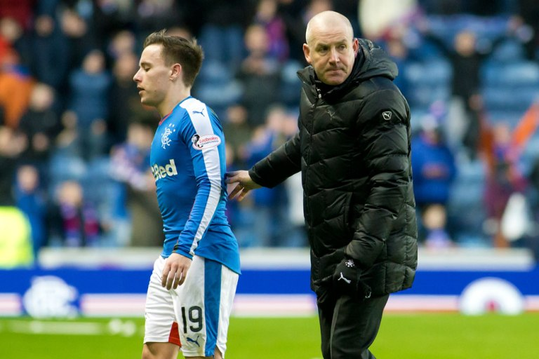 Barrie McKay & Mark Warburton, courtesy of RFC